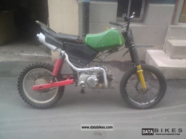 1995 Simson  S51 Motorcycle Motor-assisted Bicycle/Small Moped photo
