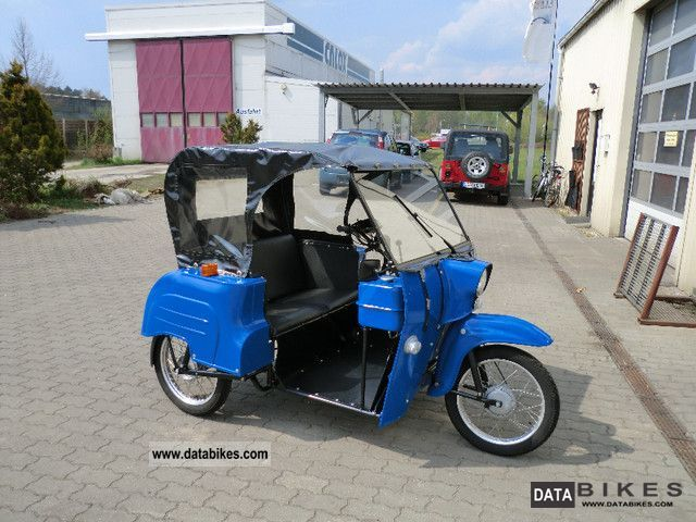 1991 Simson  Duo 4/1 Motorcycle Motor-assisted Bicycle/Small Moped photo