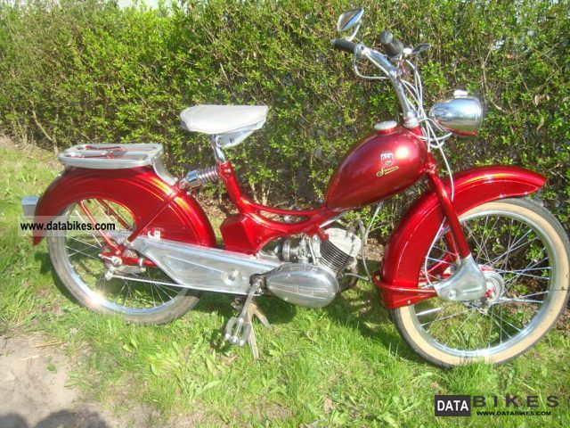 1965 Simson  SR 2E \ Motorcycle Motor-assisted Bicycle/Small Moped photo