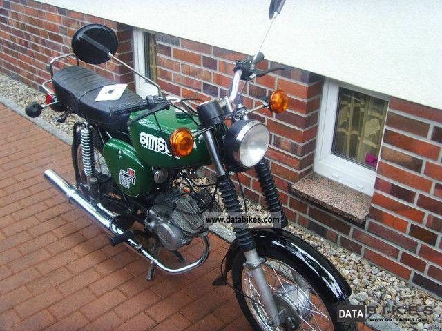 1988 Simson  S51 B2 / 4 Elektonik Motorcycle Motor-assisted Bicycle/Small Moped photo