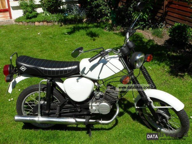 1980 Simson  S 51 Motorcycle Motor-assisted Bicycle/Small Moped photo