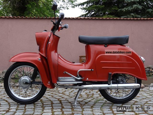 Simson  Schwalbe KR 51/1 reconstruction 1978 Vintage, Classic and Old Bikes photo