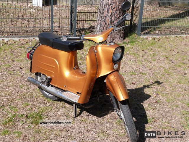 1984 Simson  Swallow Motorcycle Motor-assisted Bicycle/Small Moped photo