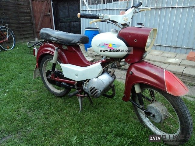 Simson  SR 4-2/1 1972 Vintage, Classic and Old Bikes photo