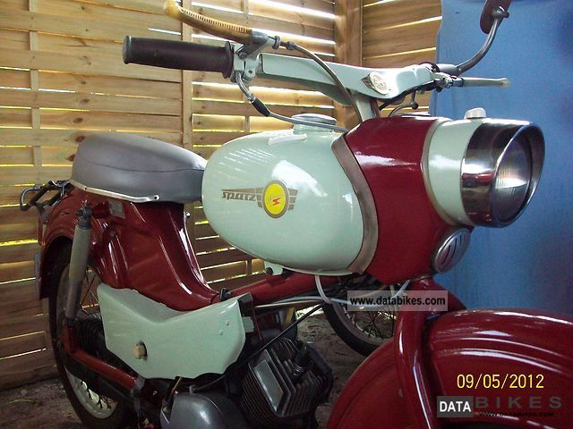 Simson  Sparrow SR4 / 1 1967 Vintage, Classic and Old Bikes photo