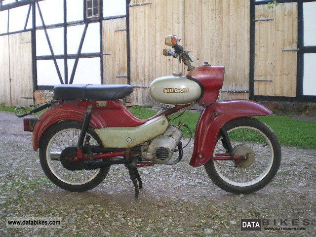 1974 Simson  star Motorcycle Motor-assisted Bicycle/Small Moped photo