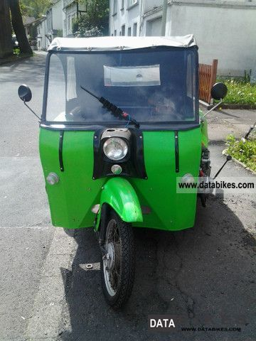 1980 Simson  Duo Motorcycle Motor-assisted Bicycle/Small Moped photo
