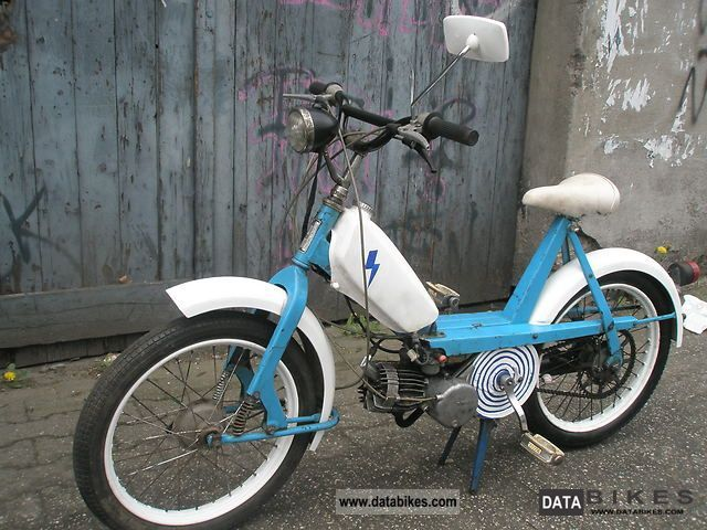 1971 Simson  SL1 Motorcycle Motor-assisted Bicycle/Small Moped photo
