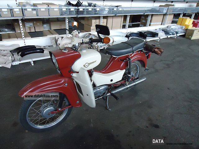 1963 Simson  Star Motorcycle Motor-assisted Bicycle/Small Moped photo