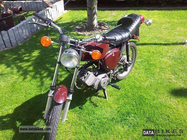 1987 Simson  S51 Motorcycle Lightweight Motorcycle/Motorbike photo