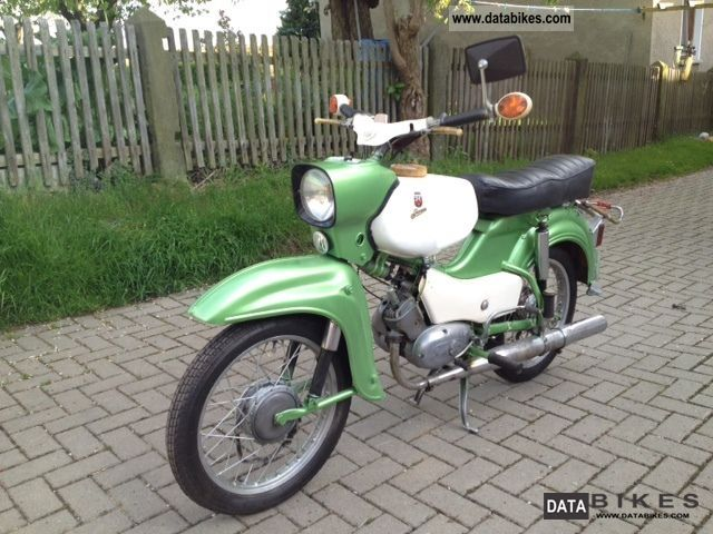 1976 Simson  SR 4-4 hawk Motorcycle Motor-assisted Bicycle/Small Moped photo