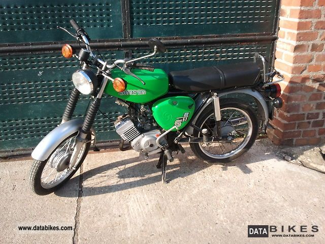 1981 Simson  S51 Motorcycle Motor-assisted Bicycle/Small Moped photo