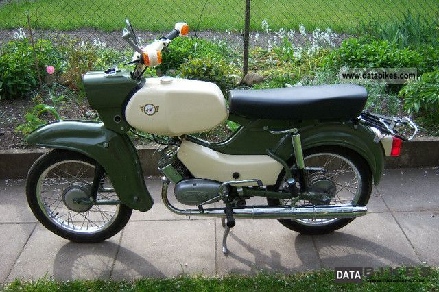Simson  Sr 4-4 hawk 1973 Vintage, Classic and Old Bikes photo