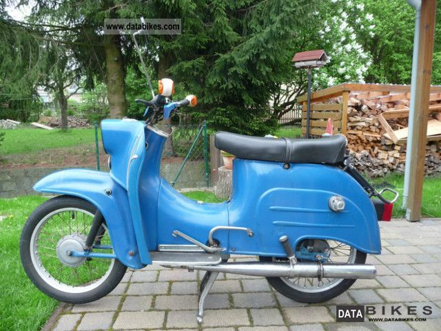 Simson  KR 51/1 Swallow 1976 Vintage, Classic and Old Bikes photo
