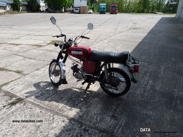 Simson  S50 1976 Vintage, Classic and Old Bikes photo