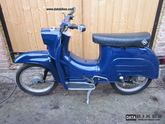 1986 Simson  Swallow Motorcycle Scooter photo
