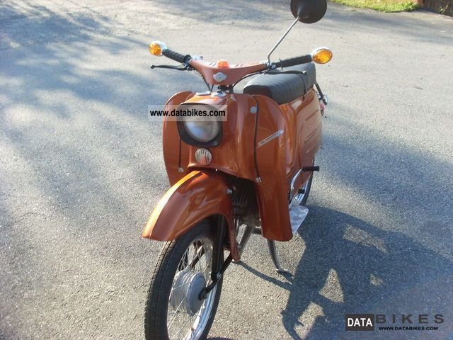 1980 Simson  KR 51 Swallow Motorcycle Other photo
