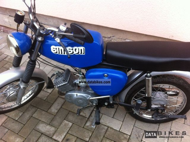 Simson  S50N 1975 Vintage, Classic and Old Bikes photo