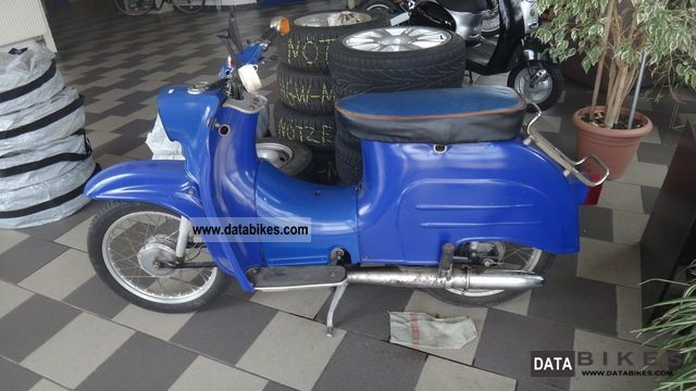 1966 Simson  Schwalbe KR51 / 1 Manual Motorcycle Motor-assisted Bicycle/Small Moped photo