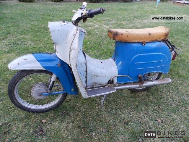 Simson  KR51 / 1 Swallow 1973 Vintage, Classic and Old Bikes photo