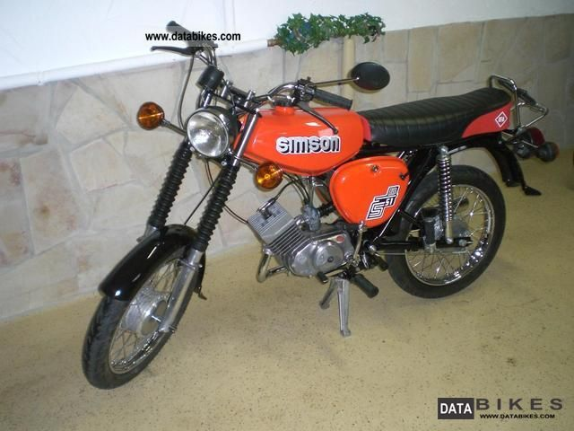 Simson  S50 2012 S51 conversion! Like New! 1977 Vintage, Classic and Old Bikes photo