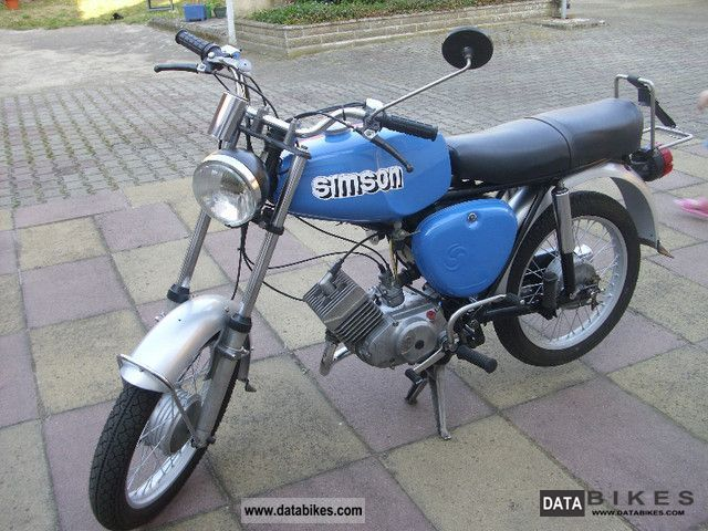Simson  S 51/50 N 1975 Vintage, Classic and Old Bikes photo