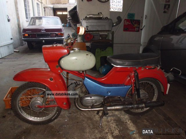 Simson  Star SR4 2/1 1971 Vintage, Classic and Old Bikes photo