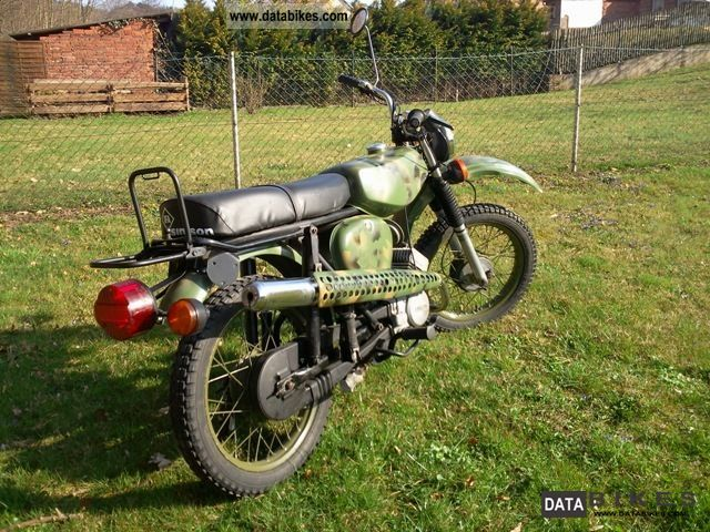 Simson  S50/S51 Enduro 1978 Vintage, Classic and Old Bikes photo