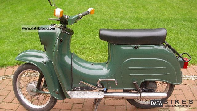 Simson  Schwalbe KR51 / 1 1970 Vintage, Classic and Old Bikes photo