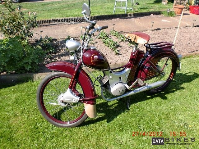 Simson  SR2E 1962 Vintage, Classic and Old Bikes photo