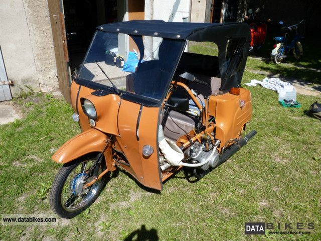 1982 Simson  DUO 4/1 Motorcycle Motor-assisted Bicycle/Small Moped photo