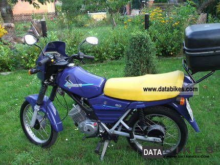 1999 Simson  Hawk Motorcycle Motor-assisted Bicycle/Small Moped photo