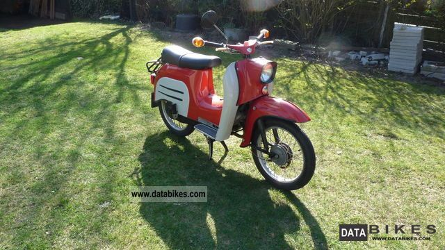 1973 Simson  Schwalbe KR51 / 1 Motorcycle Motor-assisted Bicycle/Small Moped photo