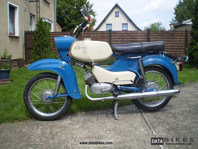 Simson  Hawk 1971 Vintage, Classic and Old Bikes photo