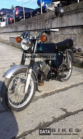 1985 Simson  S51 Motorcycle Motor-assisted Bicycle/Small Moped photo