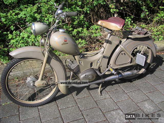 Simson  SR2 1958 Vintage, Classic and Old Bikes photo