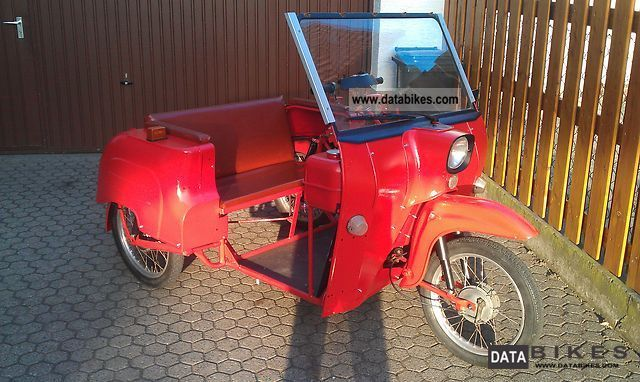1989 Simson  Duo Motorcycle Motor-assisted Bicycle/Small Moped photo
