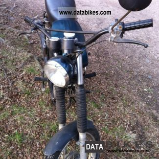 1988 Simson  S51 Motorcycle Motor-assisted Bicycle/Small Moped photo