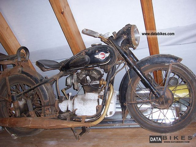 Simson  AWO tours 1955 Vintage, Classic and Old Bikes photo