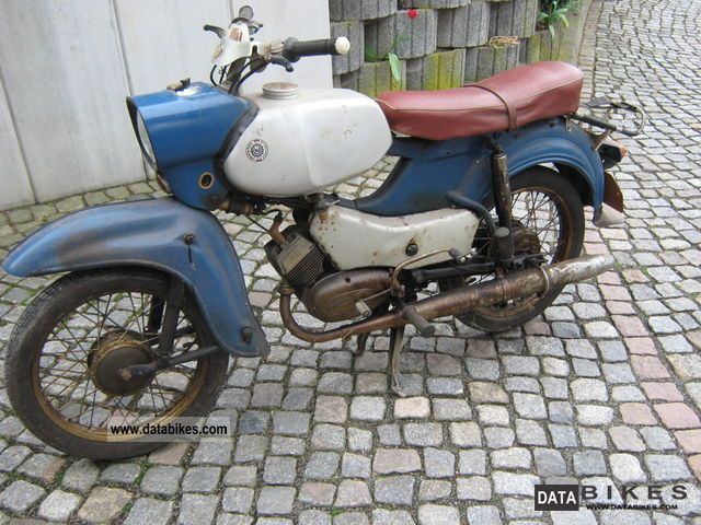 Simson  Hawk 1963 Vintage, Classic and Old Bikes photo