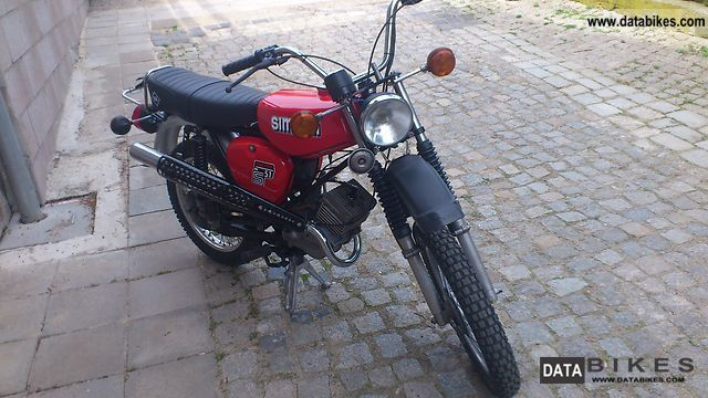 1990 Simson  S51 Enduro Motorcycle Motor-assisted Bicycle/Small Moped photo