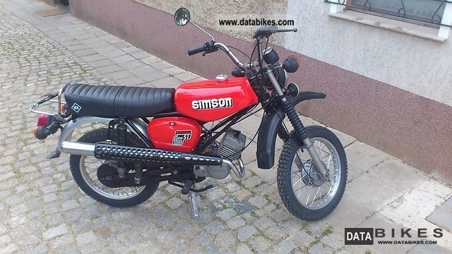 1990 simson s51 enduro. Black Bedroom Furniture Sets. Home Design Ideas