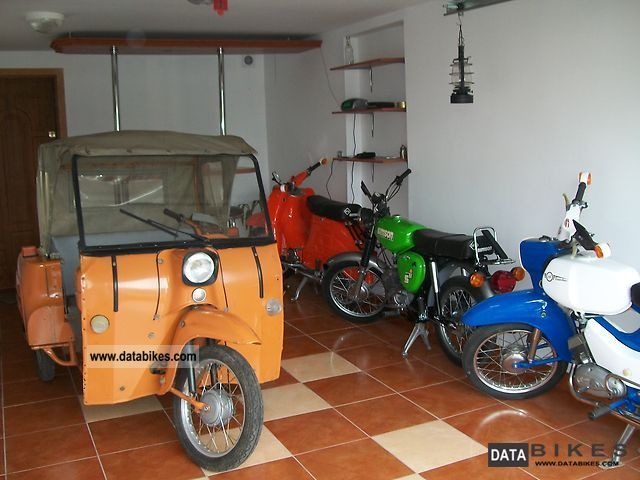 1987 Simson  Duo 4/1 Motorcycle Motor-assisted Bicycle/Small Moped photo