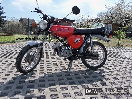 1989 Simson  s51 Motorcycle Motor-assisted Bicycle/Small Moped photo