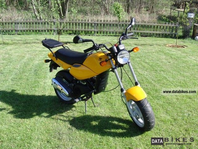 2003 Simson Sparrow Scooter Moped Moped Moped Msa 50