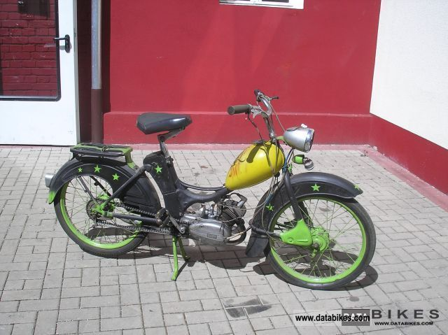 Simson  SR 2 ---\u003e with vehicle documents 1957 Vintage, Classic and Old Bikes photo