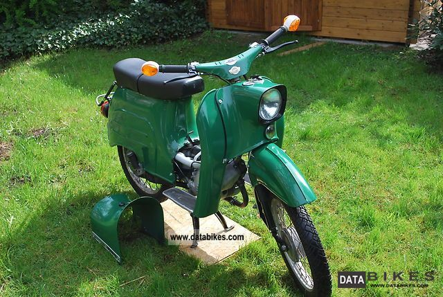 Simson  KR 51/1 1974 Vintage, Classic and Old Bikes photo
