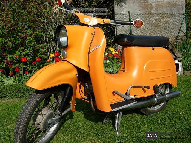 1972 Simson  Schwalbe KR 51/1 Motorcycle Motor-assisted Bicycle/Small Moped photo