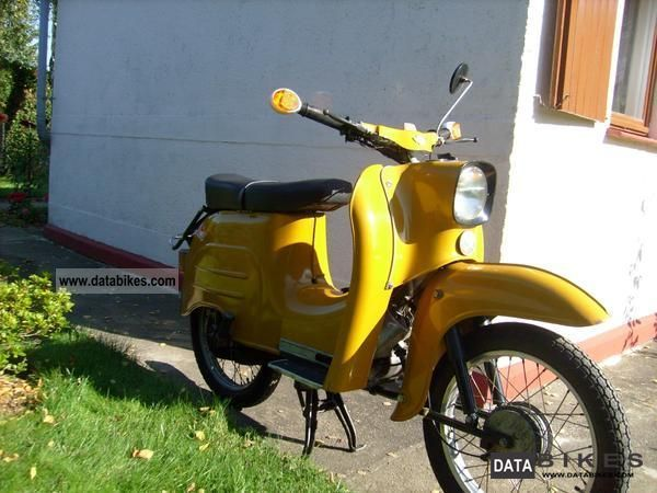 1972 Simson  KR 51/1 K Motorcycle Motor-assisted Bicycle/Small Moped photo
