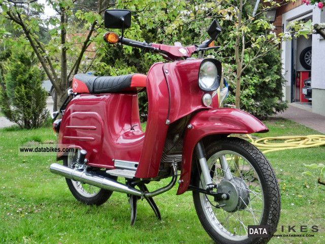 1983 Simson  Swallow Motorcycle Motor-assisted Bicycle/Small Moped photo
